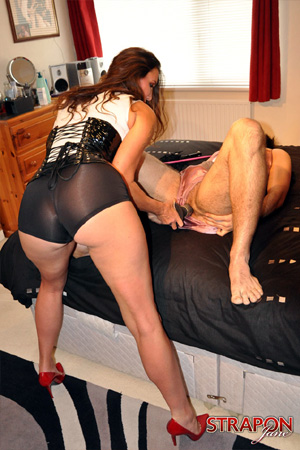 Big Butt Mature Anal Dominatrix