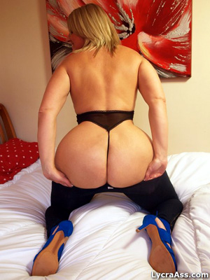 Big Butt Mature Lycra Ass