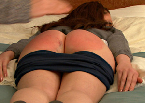 Beautiful ass spanked