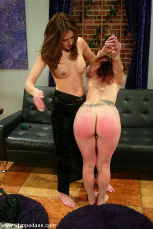 Fat Ass White Girl Spanked