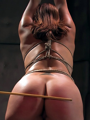 Nude Big Ass Slut Caning