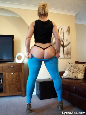 PAWG Big Ass BBW Booty in Yoga Pants