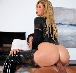 Lesbian videos big butt latex way educated!