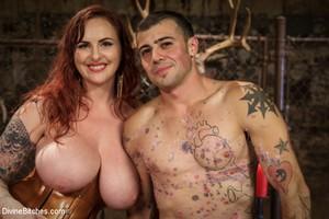 Fat Ass Mistress Slave Anal Bondage