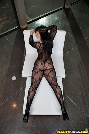 Big Booty Latina MILF First Anal Sex