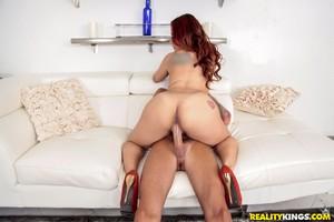 Fat Ass White Girl Twerking Naked in Public