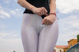 Big Booty Teen Yoga Pants Fucking