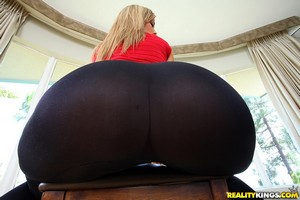 Huge Ass Teen PAWG with a Tanned Ass