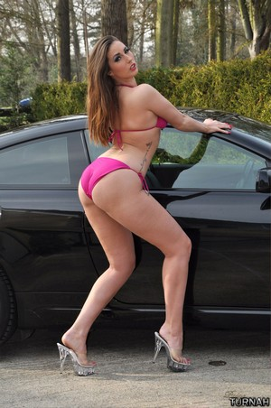 Thick Ass PAWG Twerks in Bikini Shorts
