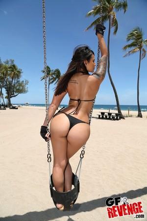 Big Booty Beach Bikini Sex