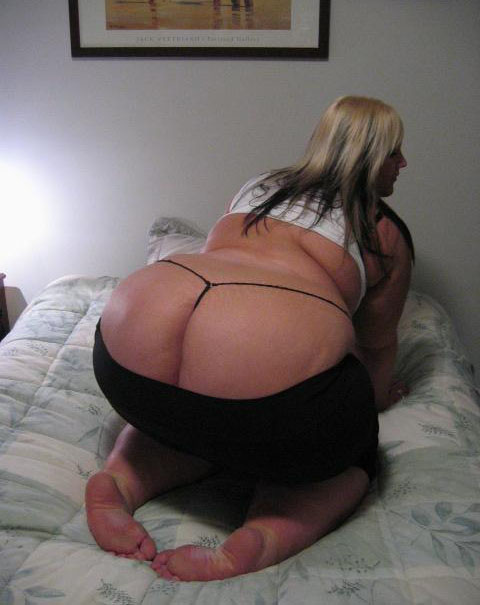White Plump Ass 107