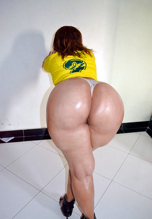 Huge white azz