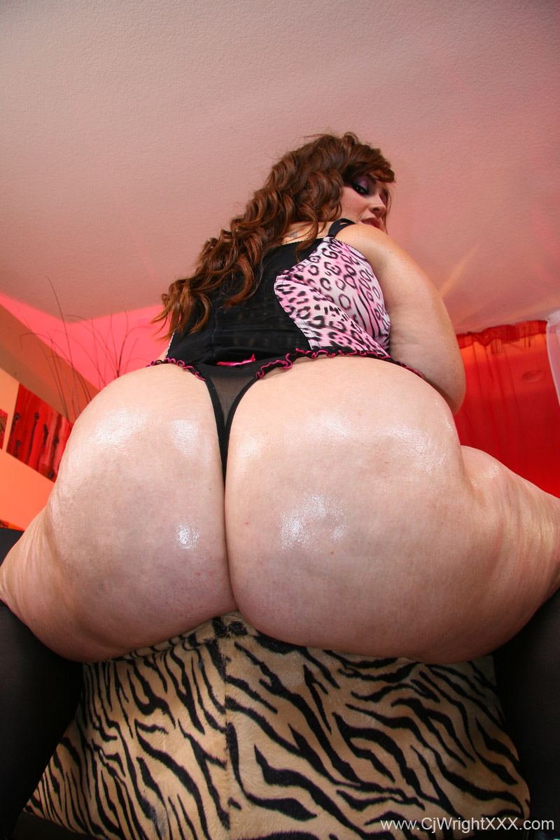 Fat ass white bbw