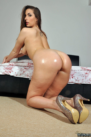 Big White Oily Ass
