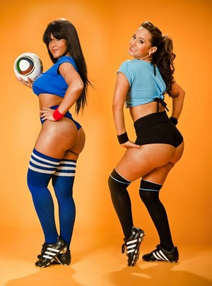 Bubble Ass Latinas in Booty Shorts